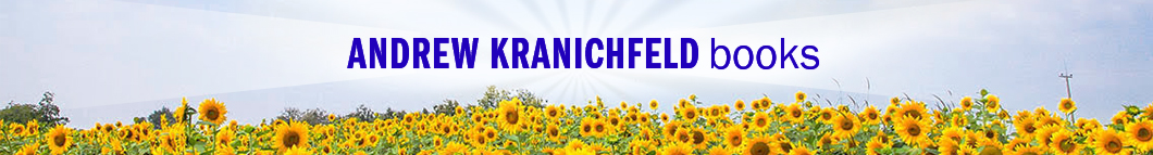 Andrew Kranichfeld Books: Banner with sunflowers